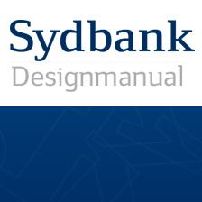 Sydbank design hjemmeside i Drupal
