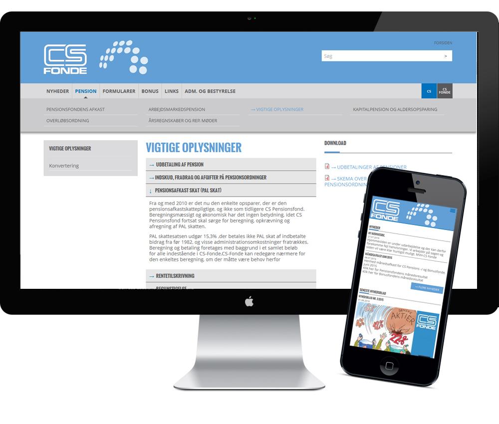 CS finde webdesign