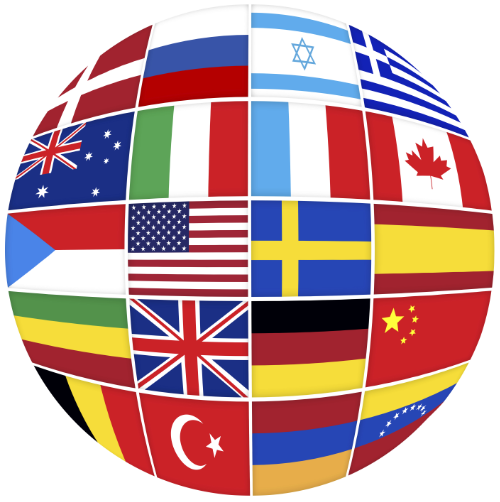 Flere sprog på siden