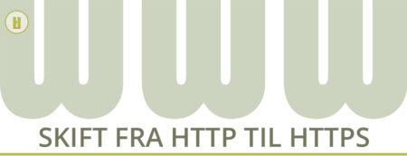 SSL certififat fra http til https